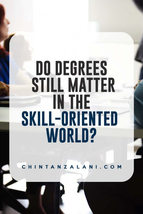 Should you pursue college or develop a skill?